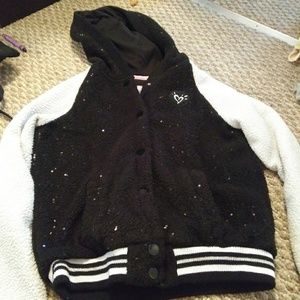 Girls justice fleece size 10